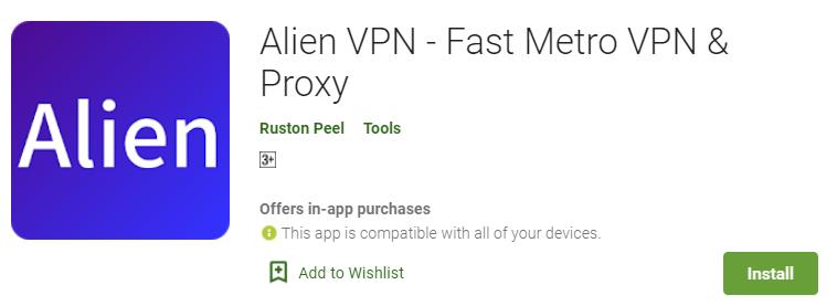 install-Alien-VPN-for-pc 1