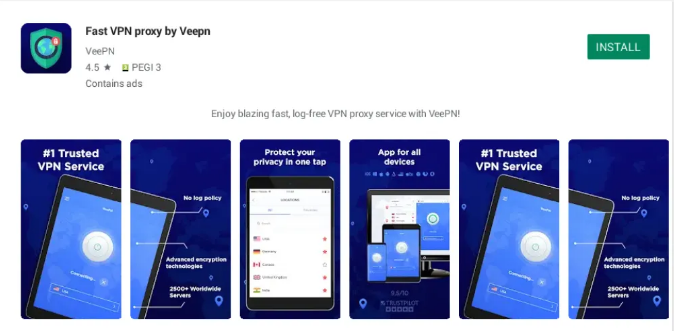 VeeVPN for pc 5