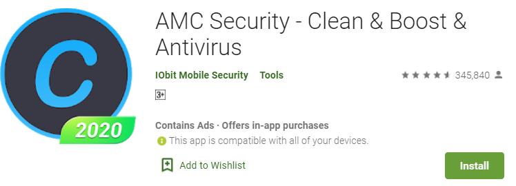 AMC Security Antivirus for pc