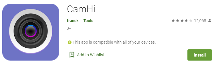 Download camhi for pc