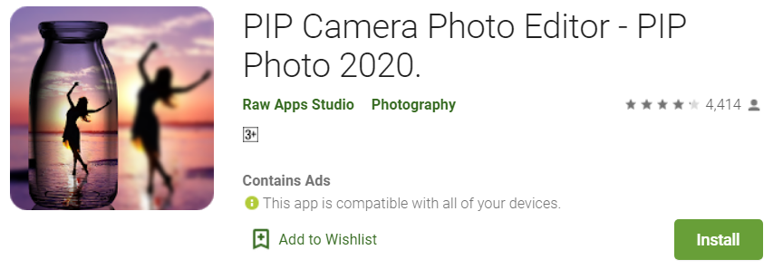 Pip camera online for pc